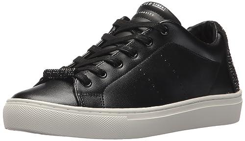 Skechers Side Street-Core-Set, Zapatillas para Mujer, Negro (Black Blk), 38 EU