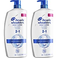 Amazon.com deals on 2-PK Head and Shoulders Classic Clean Anti-Dandruff Shampoo 32oz