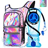 Mothybot Hiking Hydration Pack Backpack with 2l Water Bladder, Hydration Backpack for Men Women|with 5 Pockets, Concealed Poc