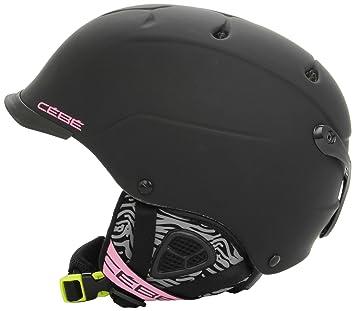 Cébé Helmet Contest Visor - Casco de esquí, color negro mate, talla M/