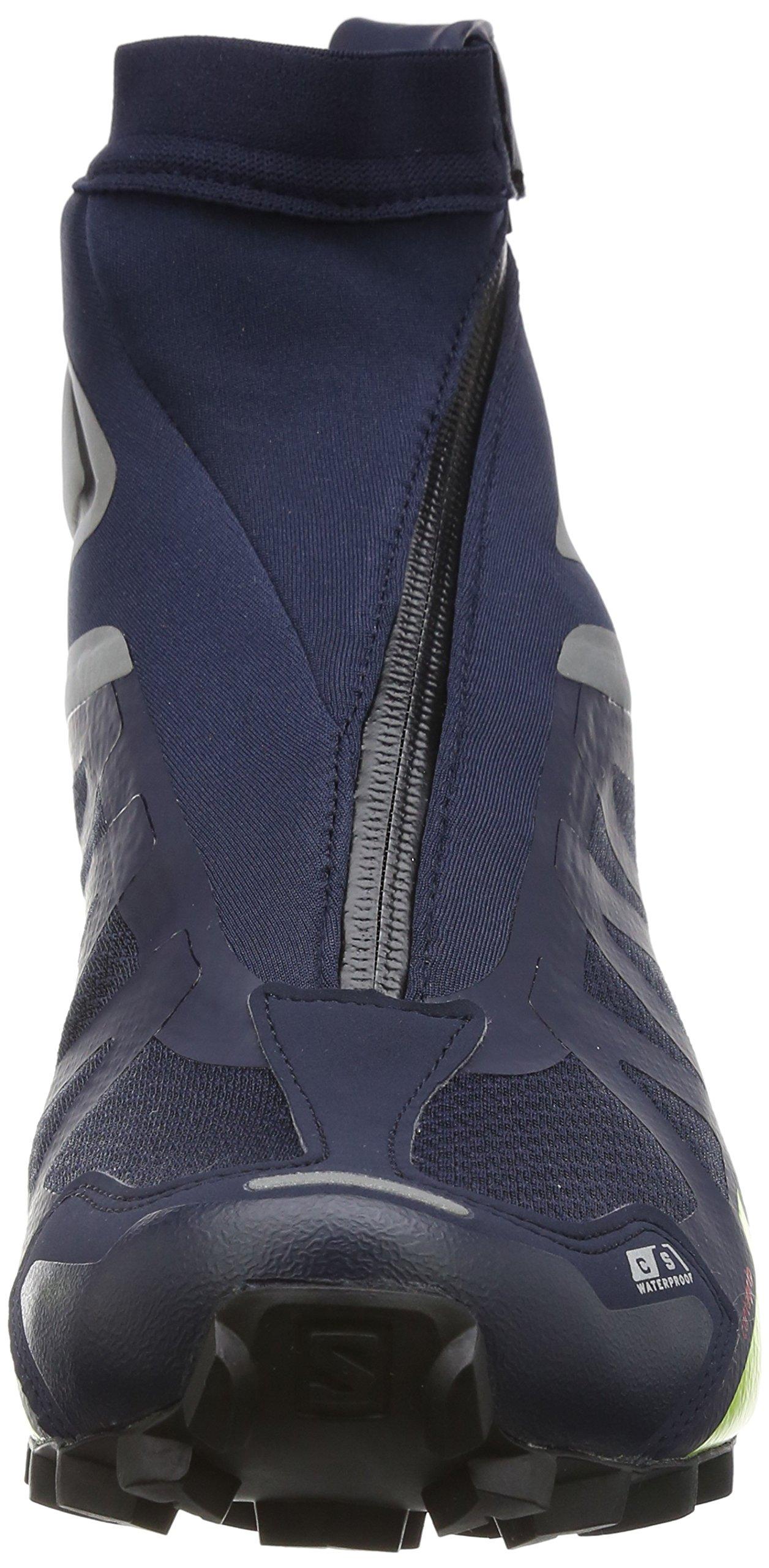 Salomon Snowcross 2 CS Waterproof Trail Running Shoe - Men's-Navy Blazer/Reflective L39451200-8.5 by Salomon (Image #4)