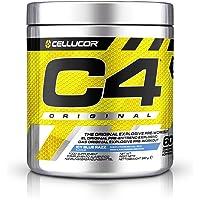 C4 Original Pre Workout Powder, ICY Blue Razz, 60 Serving