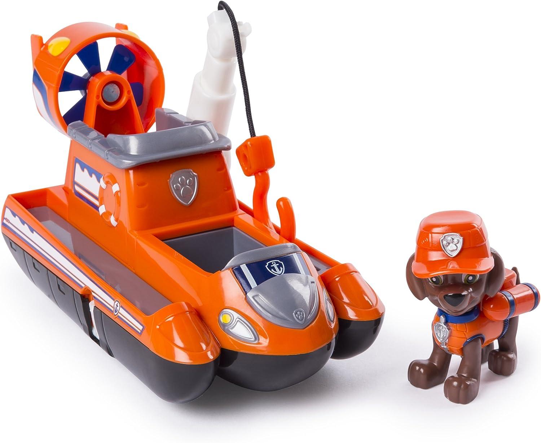 Paw Patrol Ultimate Rescue Themed Vehicle Zuma vehículo de Juguete - Vehículos de Juguete (Naranja, Barco, 3 año(s), Niño, 1 Pieza(s))