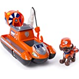PAW Patrol Ultimate Rescue — Zuma's Ultimate Rescue Hovercraft with Moving Propellers and Rescue Hook, for Ages 3 and Up