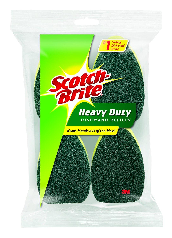 Scotch-Brite Heavy Duty Dishwand Refill, 2-Refills 481-12