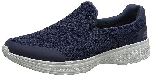Skechers Go Walk 4-Alliance, Zapatillas sin Cordones para Hombre: Amazon.es: Zapatos y complementos