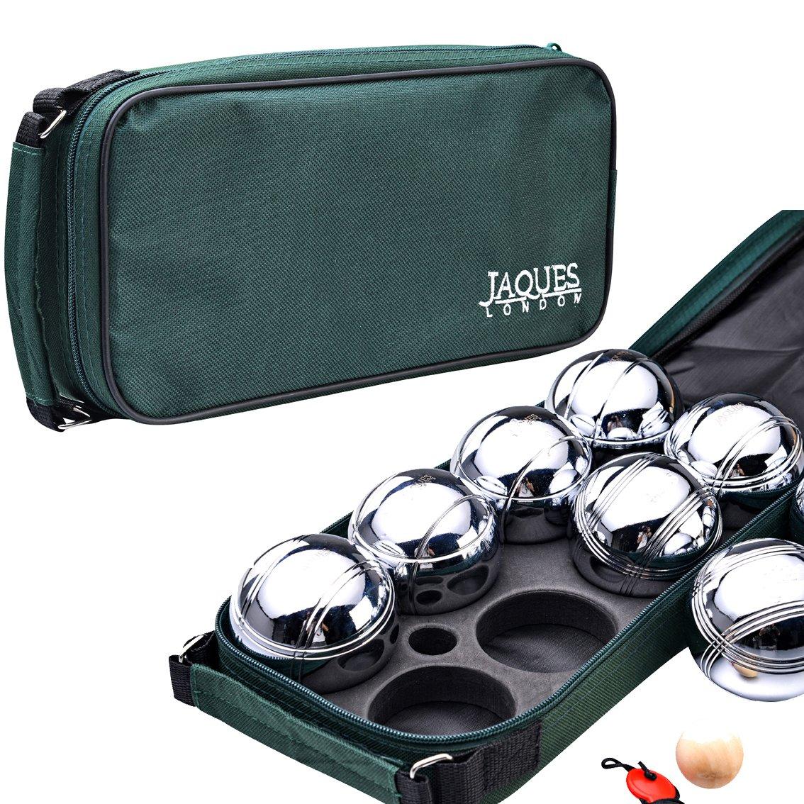 Ensemble de boules en acier pour jouer dans le jardin - Jaques of London. 24080