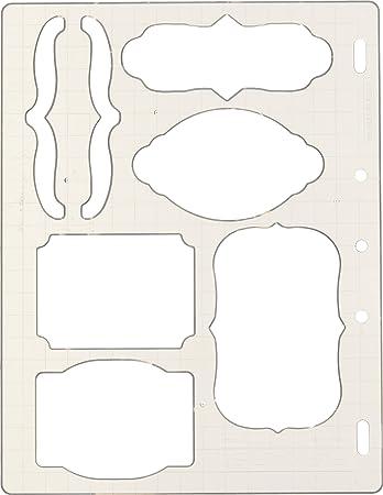 Fiskars 01-005266 Bracket and Journal Shape Template