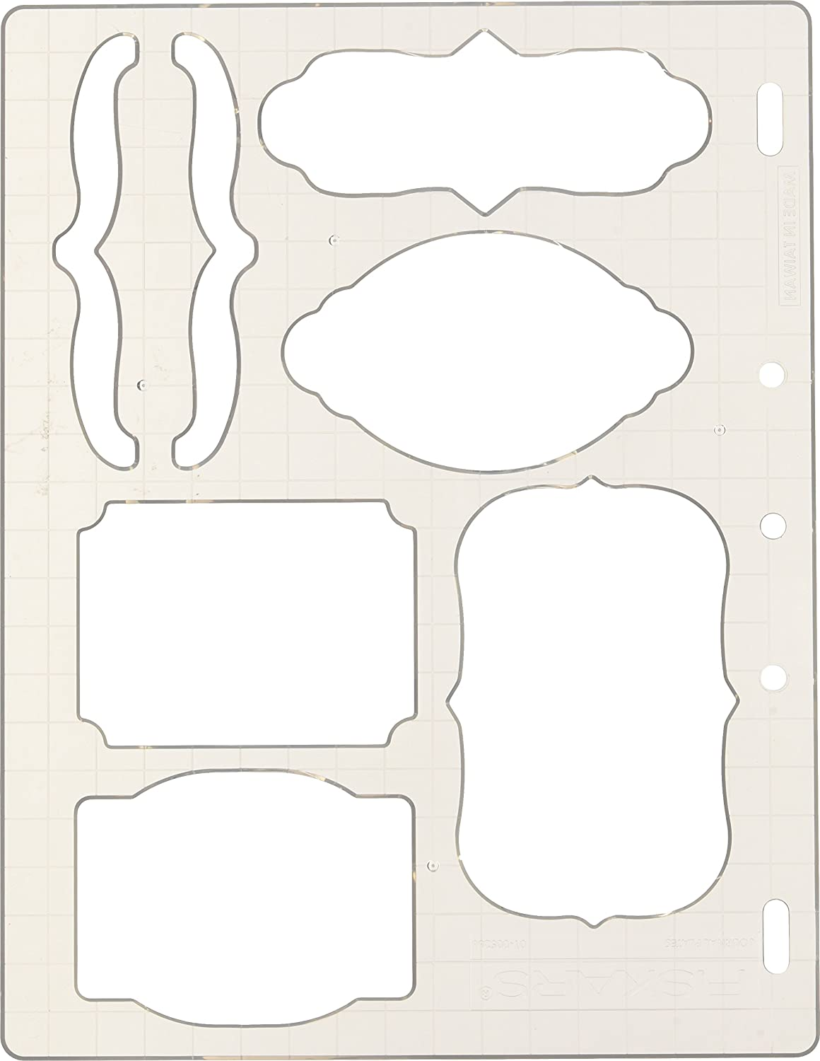 Fiskars 01-005266 Bracket and Journal Shape Template 01-005266F