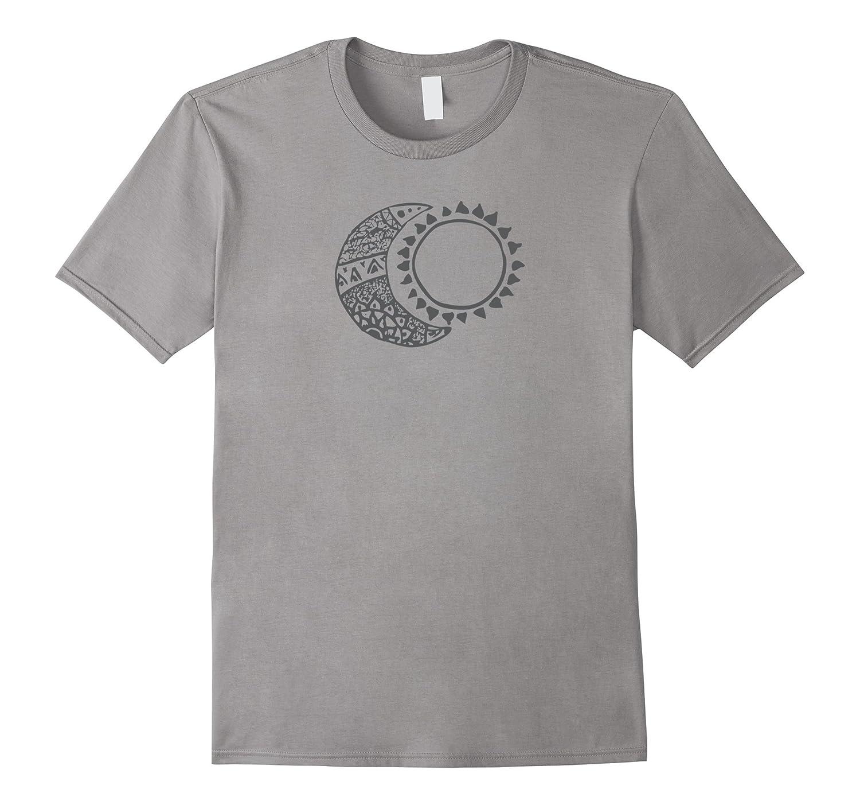 Sun  Moon Design Shirt Cute Boho Hipster Gift-Vaci