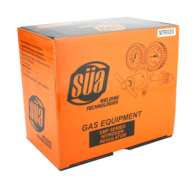 SÜA - Nitrogen Gas Regulator 0-600 PSIG - HVAC Purging - Pressure Charge - 1/4'' Flare Connector by SÜA (Image #4)