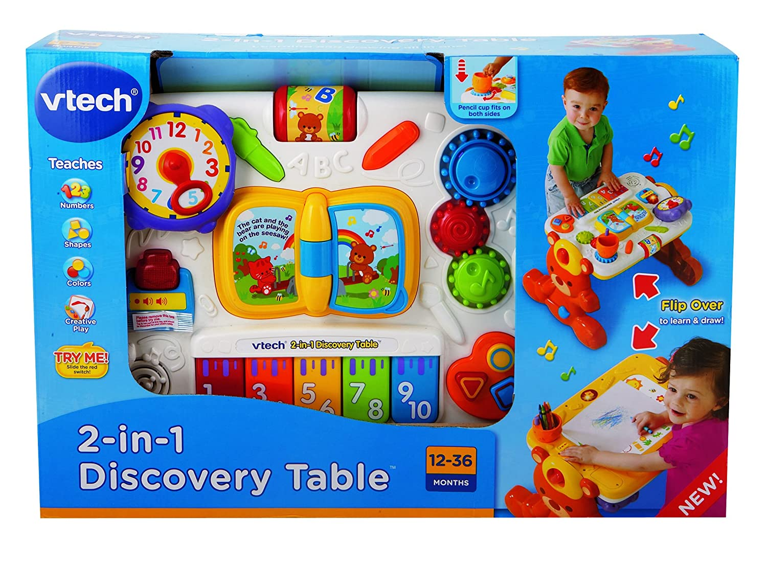 VTech 2-in-1 Discovery Table 80-123400 19D19044