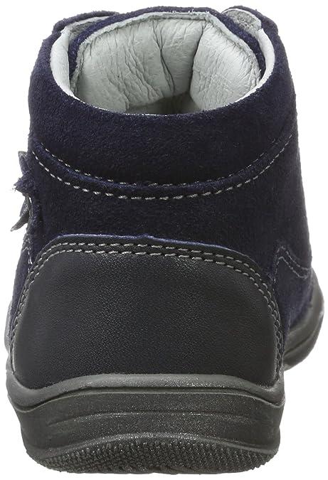 Richter Kinderschuhe Regina S, Zapatos de Cordones Derby para Niñas, Gris (Pebble/Ash/Lollyp/Eggplant 6611), 23 EU