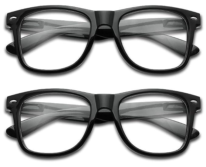 7059c4b11d63 Sunglass Stop - Wayfarer RX Strength Magnification Reading Eye Glasses  +1.00 +1.50 +2.00