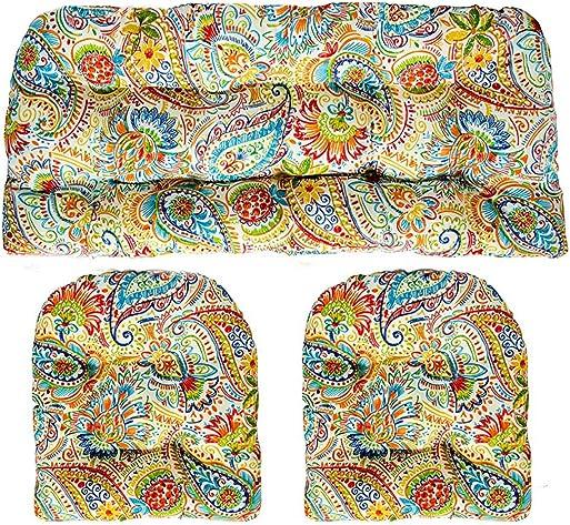 Editors' Choice: 3 Piece Wicker Cushion Set