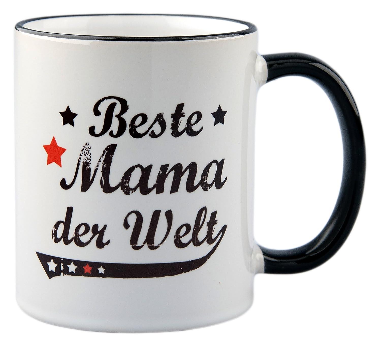 Tasse / Geschenk Beste Mama der Welt Vintage Style: Amazon.de: Küche ...