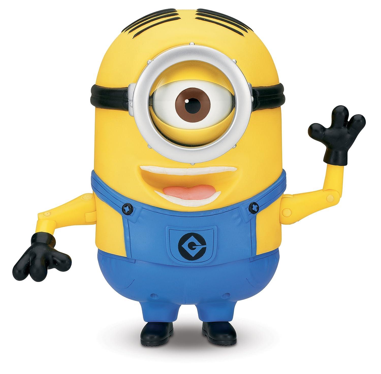 amazon com despicable me minion stuart laughing action figure