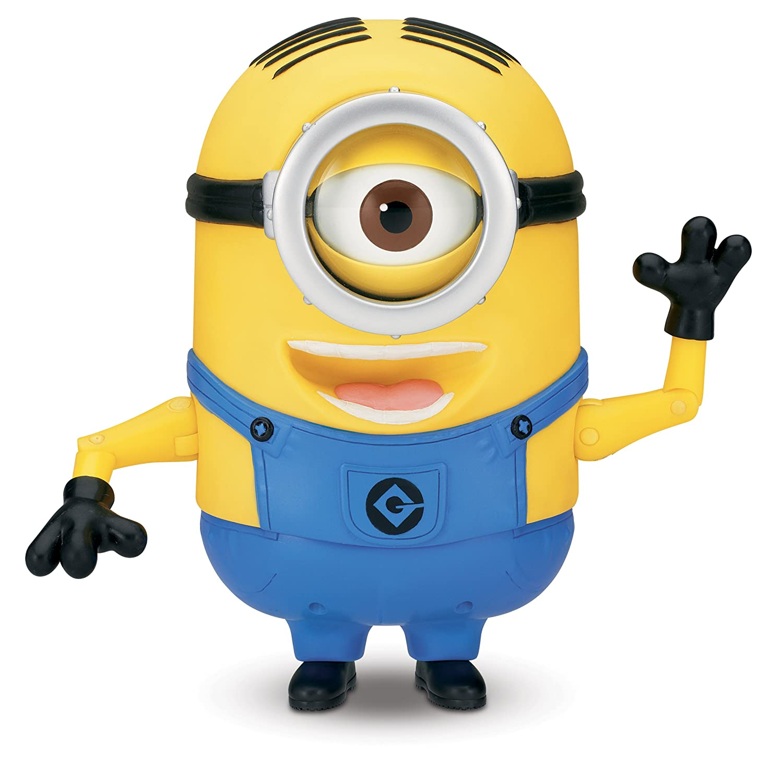 Despicable Me, lachende Minion-Actionfigur Stuart aus Ich – Einfach unverbesserlich 2
