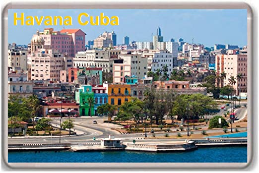 Cuba//im/án para nevera.