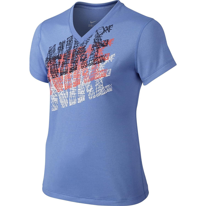 Nike Maglia a Maniche Corte Ragazza Tracer Tee Yth Leg 77653679