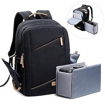 K&F Concept - Mochila fotográfica: Amazon.es: Electrónica
