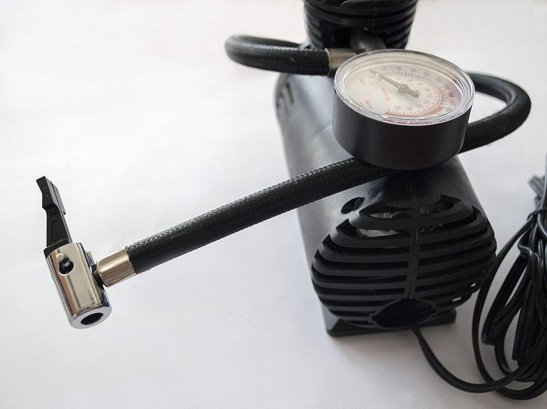 250 psi -12V//80W Ref AZ.5304.0088584 Mini compressore daria portatile- 12V DC