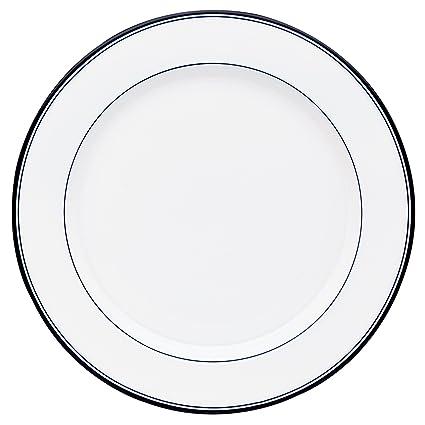 Amazon.com: Dansk Concerto Allegro Dinner Plate, White: Dansk ...