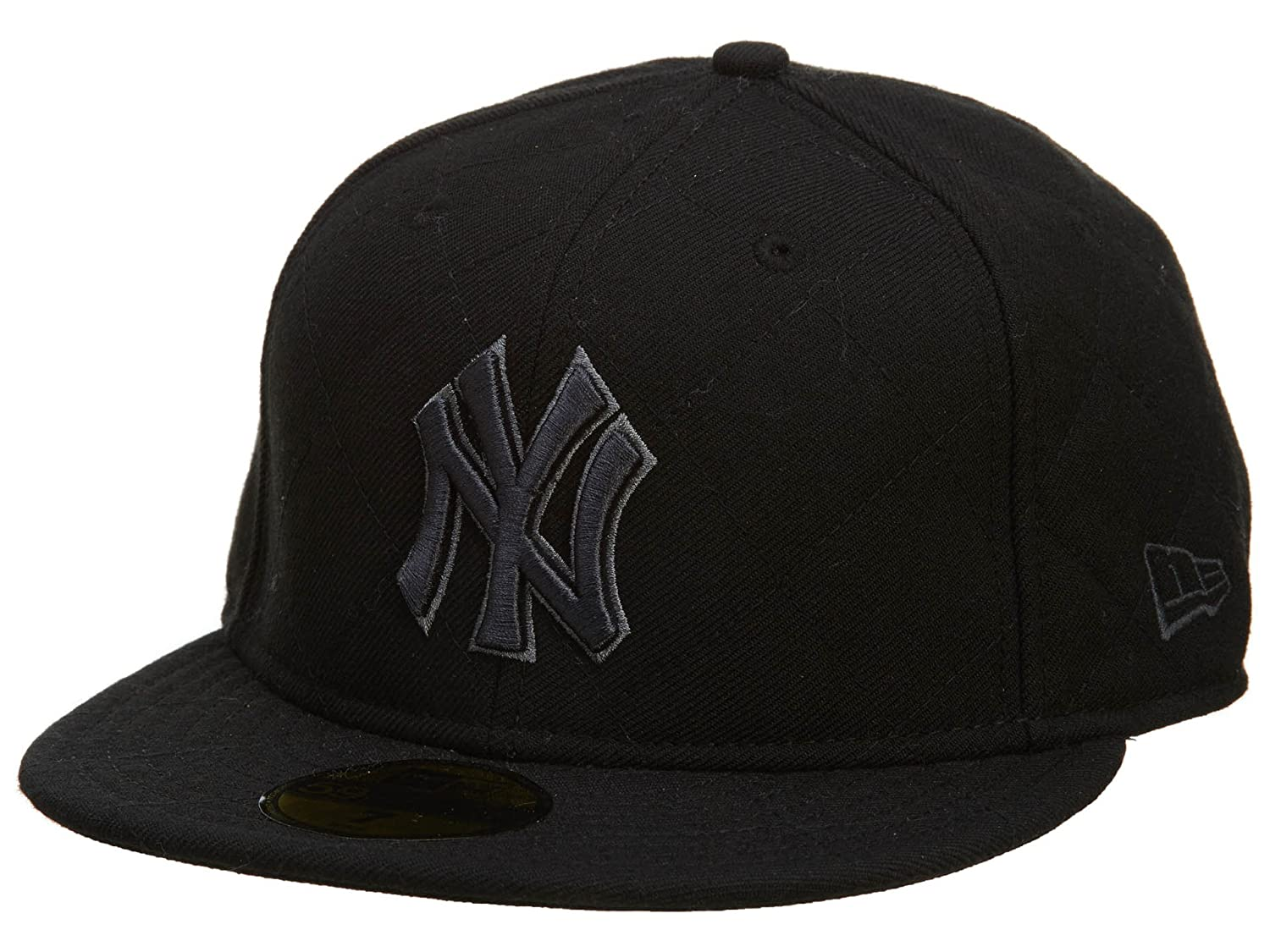 a2bbdb9bd9 Amazon.com  New Era New York Yankees Fitted Hat Mens Style  NYYANKEE-153  Size  8  Shoes