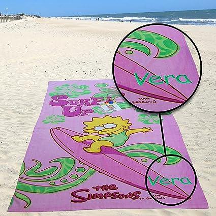Kid s Niñas regalo – personalizada de playa Baño Toalla de piscina (– Los