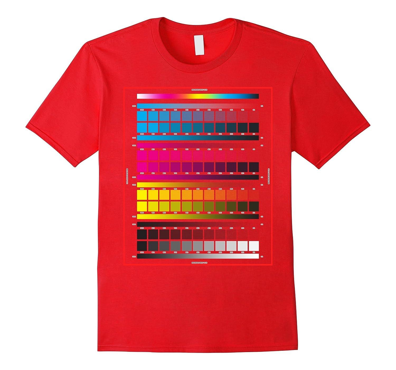 Color Chart T-shirt-TD