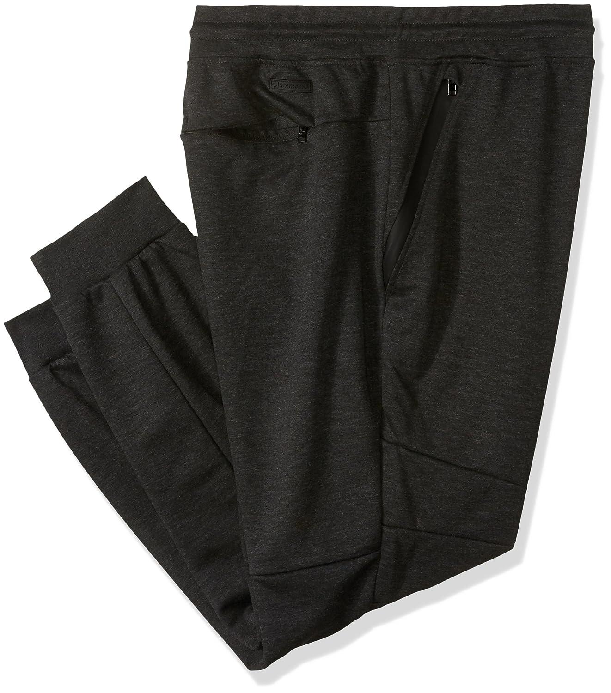 Southpole mens big-tall Bt Tech Fleece Jogger Pants With Zipper Details