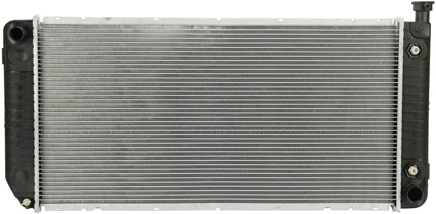 Klimoto Brand New Radiator fits Chevrolet//GMC C//K Series 1500 2500 3500 Tahoe Yukon Suburban 5.0L 5.7L V8 KLI2317 Note Must verify options. does not have engine oil cooler option on driver side