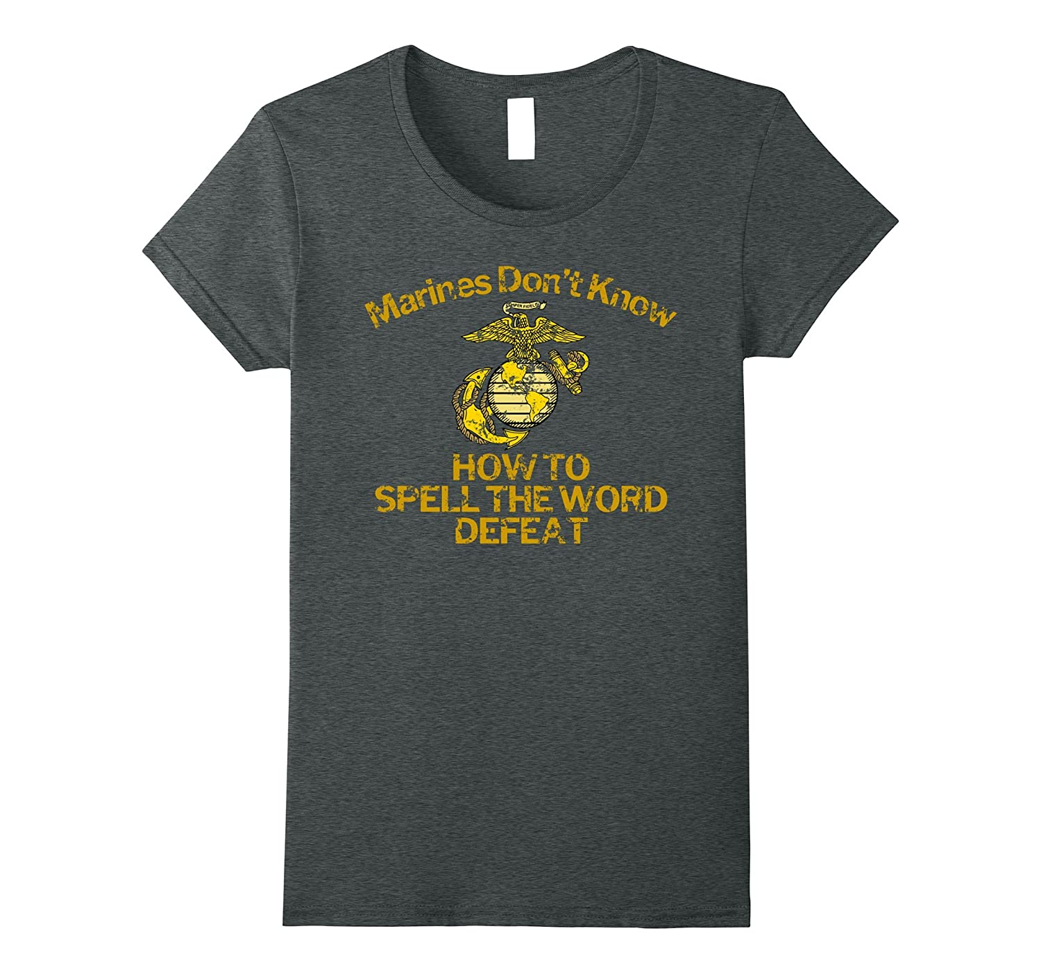 General Mattis Marines Don't Know Defeat T-Shirt