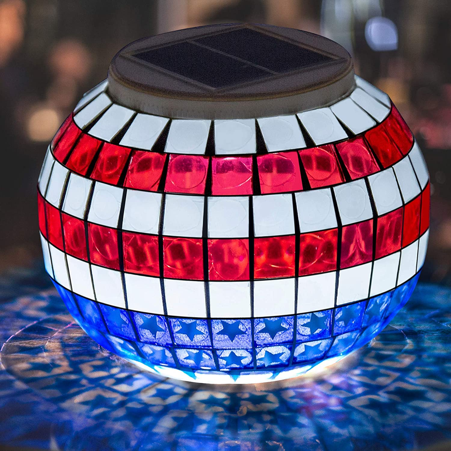 Pandawill Color Powered Color Changing LED Table Light