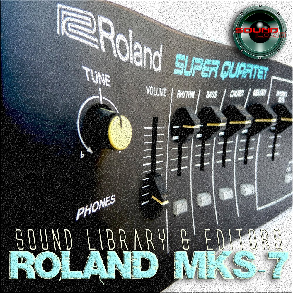 for ROLAND JV-1010/1080/2080 Factory & New Created Sound Library & Editors  on CD or download