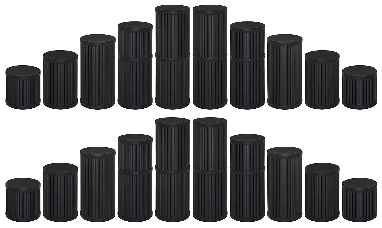 10 Pack of 12 Diameter Plastic Display Pedestals