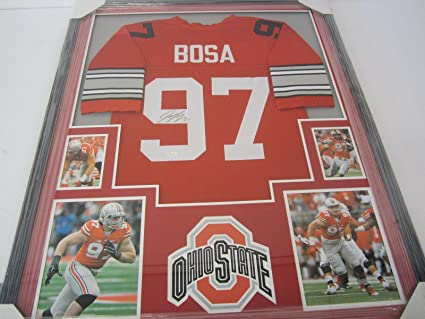 0252cc9bc Image Unavailable. Image not available for. Color  Signed Joey Bosa Jersey  - OSU ...