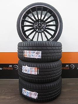 Mercedes Benz A 176 AMG C 204 205 CLA E 212 207 19 pulgadas Llantas Verano ruedas nuevo: Amazon.es: Coche y moto