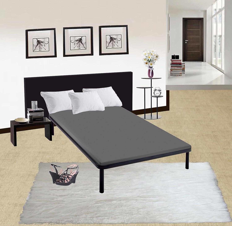 amazon com continental sleep fully assembled 2 inch foundation