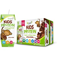 12-Pack Orgain Healthy Kids Organic Nutritional Shake Chocolate (8.25-oz)