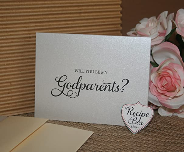 Amazon will you be my godparents godparent card card for will you be my godparents godparent card card for godparents m4hsunfo