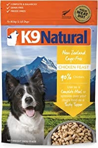 K9 Natural Grain-Free Freeze-Dried Dog Food Chicken 1.1lb