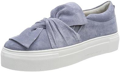 Kennel und Schmenger Damen Big Slip on Sneaker, Blau (Cielo Sohle Weiß), 39 EU