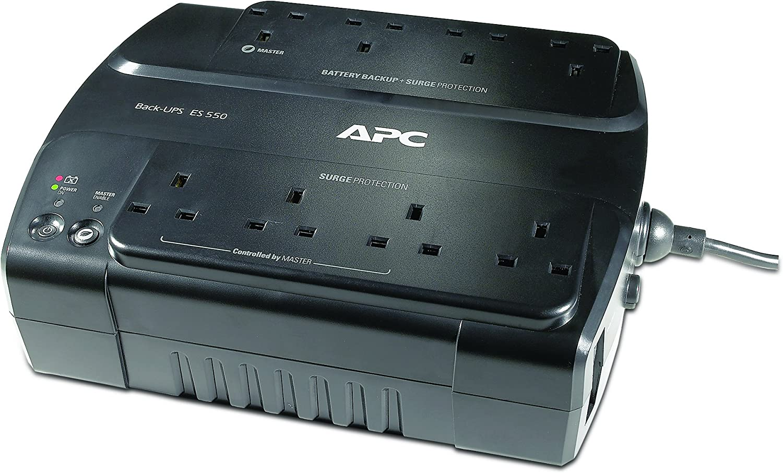 BE325-UK APC Back-UPS ES Uninterruptible Power Supply 325VA 4 Outlets, Surge protected