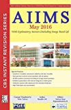 AIIMS May 2016 : With Explanatory Answers