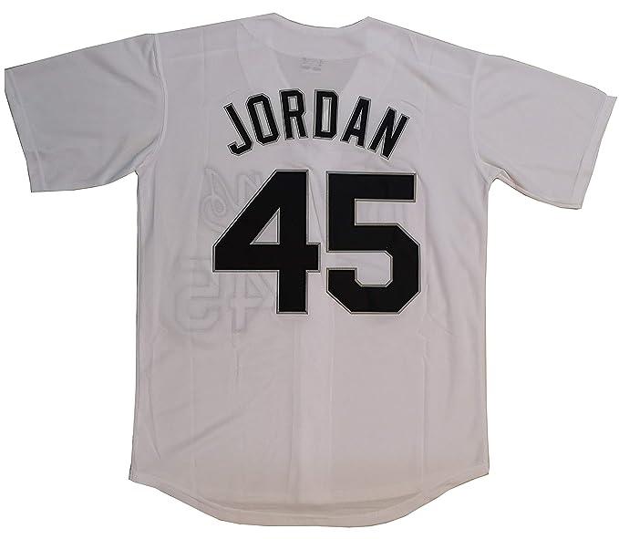 new styles d0d39 25945 Kooy Jordan #45 Birmingham Barons Baseball Men Jersey Stitched