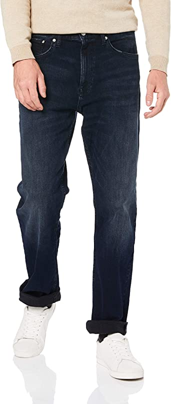 Calvin Klein Men S Relaxed Straight Fit Jeans At Amazon Men S Clothing Store