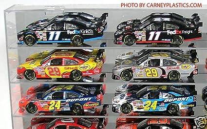Amazon.com: Diecast 1: 24 Display Case 24ss coche escala 1 ...