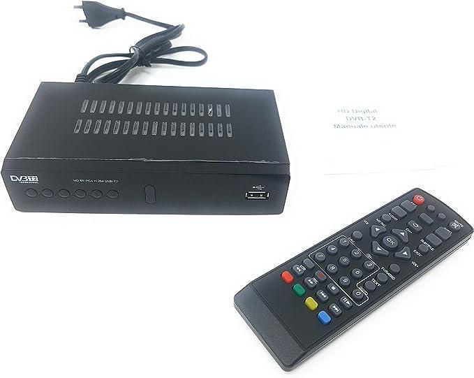 Descodificador digital terrestre, receptor DVB-T2, Full HD, euroconector, USB y HDMI, MPEG-4: Amazon.es: Iluminación