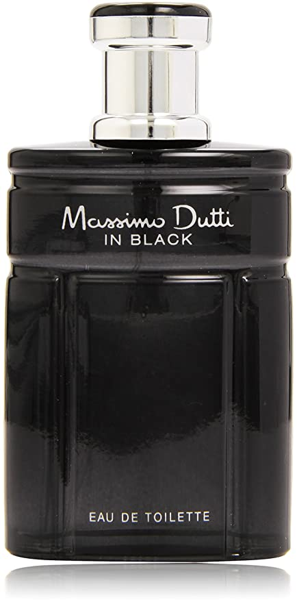 Massino Dutti in Black - Agua de colonia - 100 ml